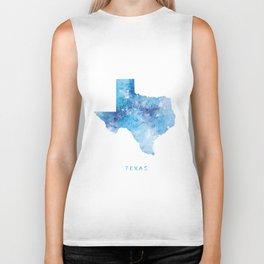 Texas Map Biker Tank