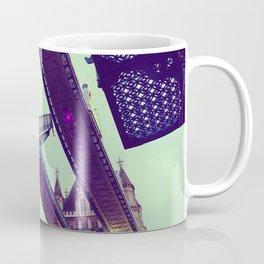 London Bridge lifting - Fine Art Travel Landmarks Photography Coffee Mug