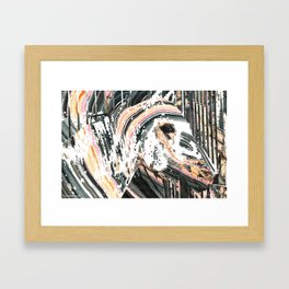 Modern Horse Art by Sharon Cummings Framed Art Print
