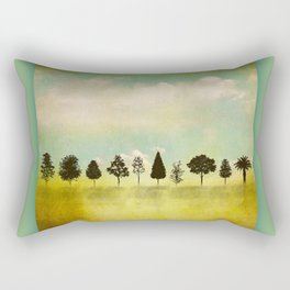 IN RANK AND FILE Rectangular Pillow