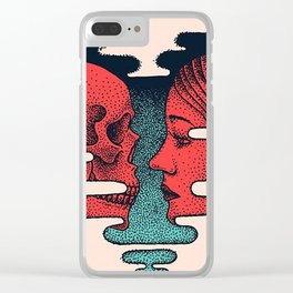 love you to death Clear iPhone Case