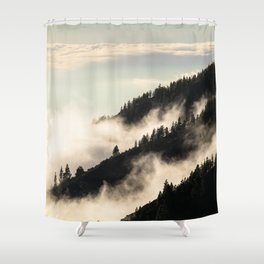 A Song Of Trees Shower Curtain