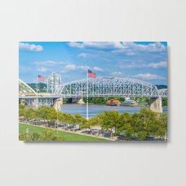 The Ohio River Metal Print