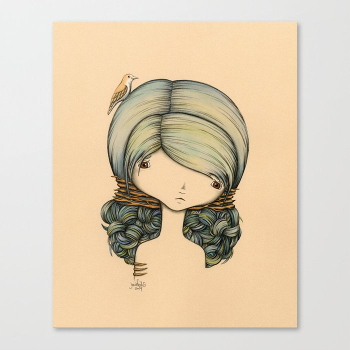 Anne n Belle Canvas Print