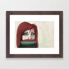 Wishing for April Framed Art Print