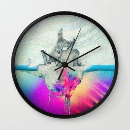 Polar Inversion Wall Clock