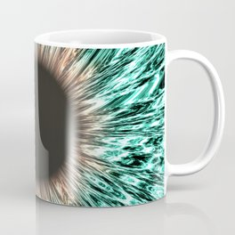 The Blue-Green Iris Coffee Mug