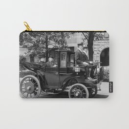 Vintage Automobile carrying Senator George Wetmore - 1906 Carry-All Pouch