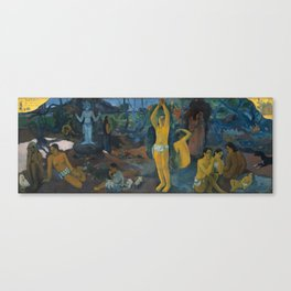 Paul Gauguin -Where Do We Come From? What Are We? Where Are We Going?, Canvas Print