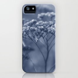 Nature in blue iPhone Case