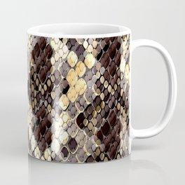 The pattern of snake skin. Coffee Mug