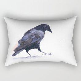 Crow #2 Rectangular Pillow