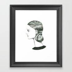 H3 Framed Art Print