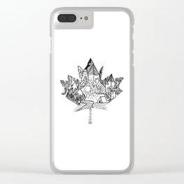 My Canada Clear iPhone Case
