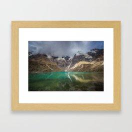 Humantay Glacial Lake Framed Art Print