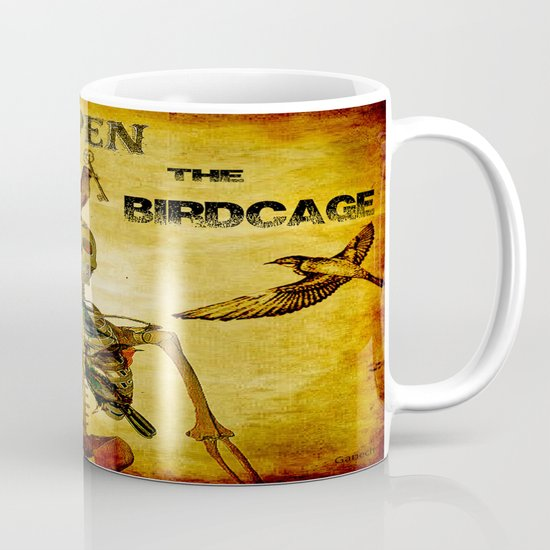 Open the Birdcage Mug