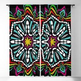 Mandala Pattern Octagon Mandala Colorful Blackout Curtain