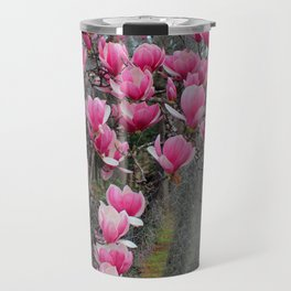 Beauty In Pink And Gray Travel Mug