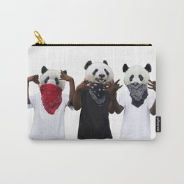 Tres Bandana Pandas Carry-All Pouch