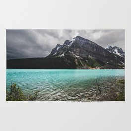 Mountain Photography Landscape Glaciers Turquoise Lake Water Beautiful Nature Rug