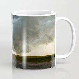 Storm Cloud Over Country Road Coffee Mug