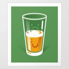 Pessimistic Optimist Art Print