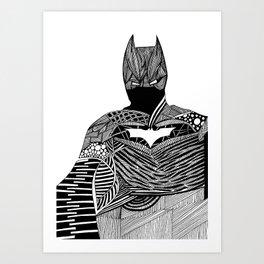 Knight of Night Art Print