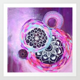Little Universes Art Print