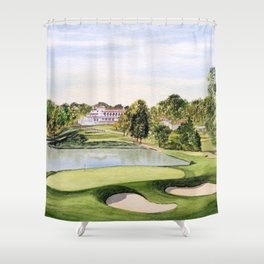 Congressional Golf Course 10th Hole Shower Curtain