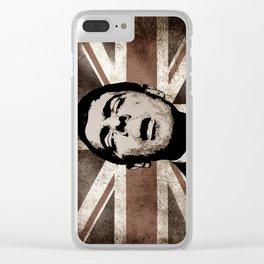 UK BEAN Clear iPhone Case