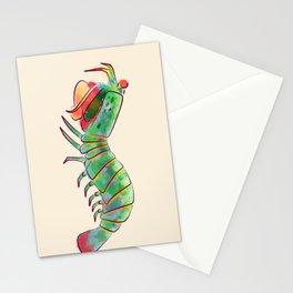 Peacock Mantis Shrimp Stationery Cards