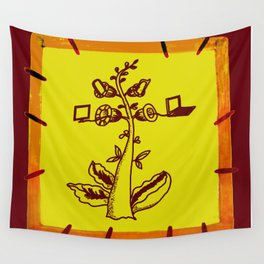 tree with a computer , telephone and other device . https://society6.com/vickonskey/s?q=popular+prin Wall Tapestry