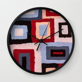 Spacetime connections Wall Clock