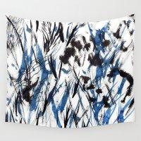 flight Wall Tapestries featuring FLIGHT by Teresa Chipperfield Studios