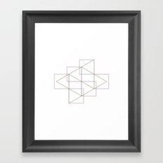 #295 Passersby – Geometry Daily Framed Art Print