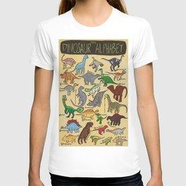 The Dinosaur Alphabet T-shirt
