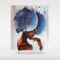 waterfall Shower Curtains featuring Waterfall  by Sebastian Wandl