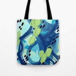 Abstract Oceana Tote Bag
