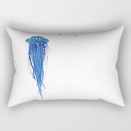 Cobalt Squishy Rectangular Pillow
