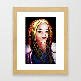 Celia - Bearer of Light Framed Art Print