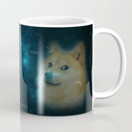 shibe doge in space Coffee Mug