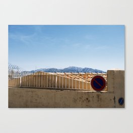 No Entrance Canvas Print