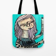 Fearless_Key Tote Bag