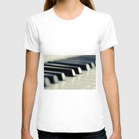 piano T-shirts featuring Piano by Falko Follert Art-FF77