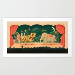 The Play by Emily Winfield Martin Art Print