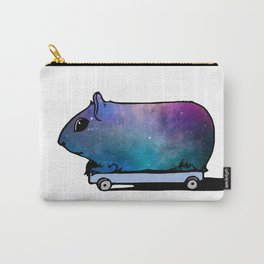Cosmic Guinea Pig on Wheels Carry-All Pouch