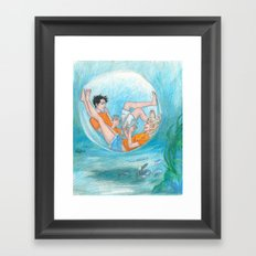 Privacy  Framed Art Print