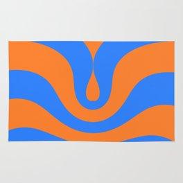 Vintage wave Rug