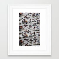 western Framed Art Prints featuring Western  by Kim-maree Clark