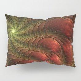 Fantasy Fractal, Coloful And Luminous Pillow Sham